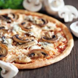 Pizza Champignon & Mozzarella