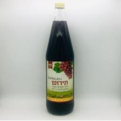 Jus de raisin rouge barkan