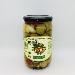 Olive Andalouse Pimentée