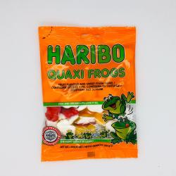 Quaxi frogs cacher Haribo