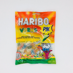 Worms Pik Haribo
