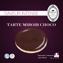 Tarte Miroir Choco