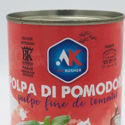 Pulpe fine tomate cacher