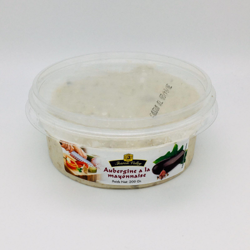 Aubergine à la mayonnaise