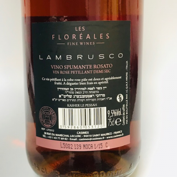 Lambrusco Rosé Cacher