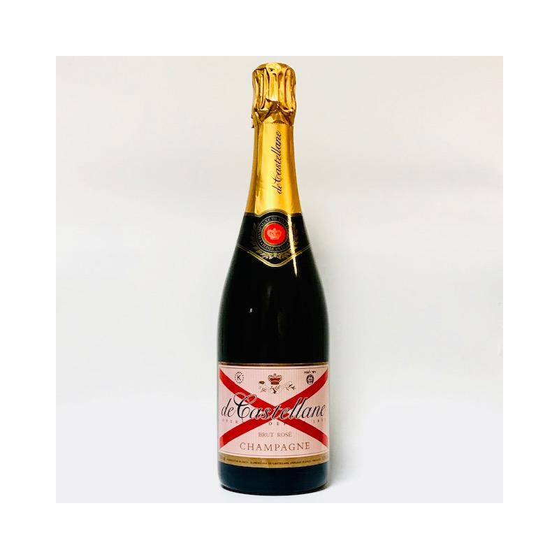 Champagne de Castellane Rosé.